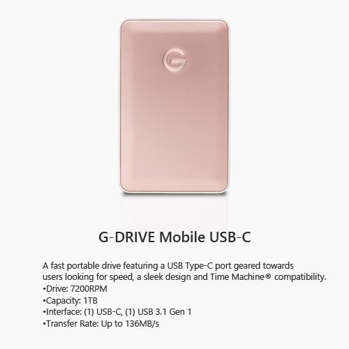 g drive usb